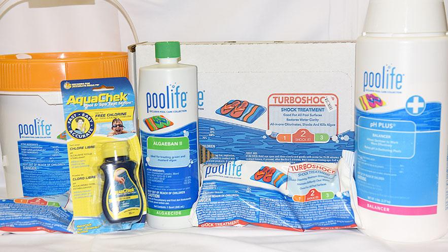 Chlorine bundle package