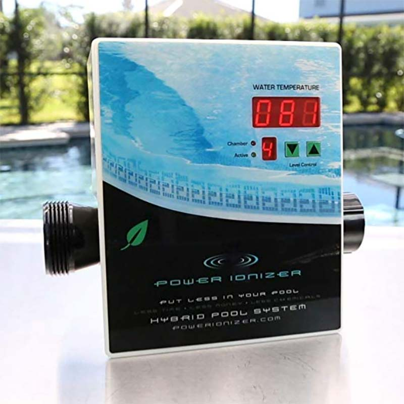 Ionizer Swimming Pool System